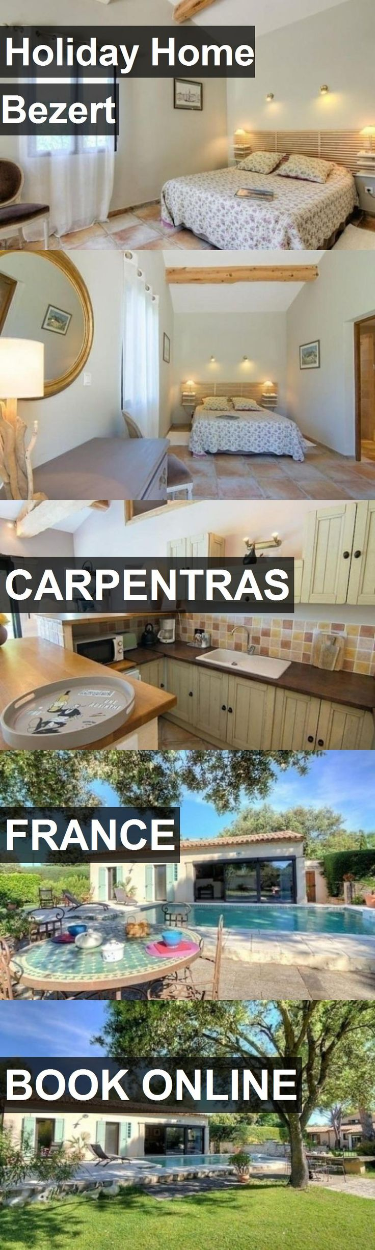 Hotel Holiday Home Bezert in Carpentras, France. For more information, photos, reviews and best prices please follow the link. #France #Carpentras #travel #vacation #hotel