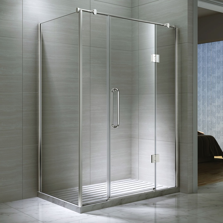 Double Hinged Doors : Best images about shower enclosures bath screen and