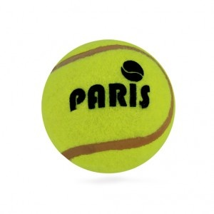 Balle de tennis Paris