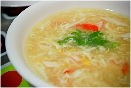 Chinese Food Recipes 中餐食谱: Crab and Corn Soup Recipe