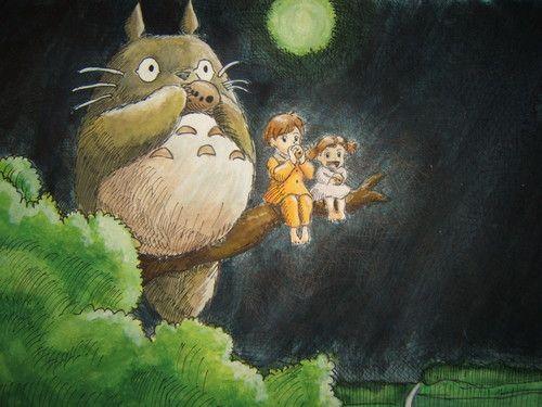 Totoro, Szacuki and Mai
