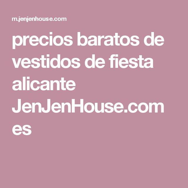 precios baratos de vestidos de fiesta alicante JenJenHouse.com es