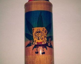 Bugs Bunny Mickey Maus Joint Pass BIC Feuerzeug Kartonhalter