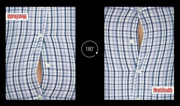 """Diet Magazine  """"Men's Health""""  : Flip it !"""