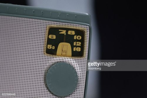A Sony Corp. TR-55 radio, the first transistor radio to be... #koycegiztr: A Sony Corp. TR-55 radio, the first transistor… #koycegiztr