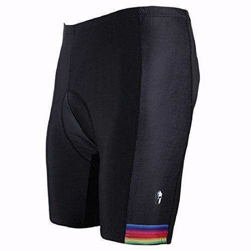 Paladin Cycling Shorts Men with Inner Padded Color Edge Pattern Bike Jersey Size XXXXL *** Find out more about the great product at the image link.