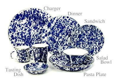 Golden Rabbit Cobalt Swirl Dinnerware Golden Rabbit Cobalt Swirl Dinnerware. Porcelain enamel dinnerware in  sc 1 st  Pinterest & 131 best red spatterware and more images on Pinterest | Enamel ware ...