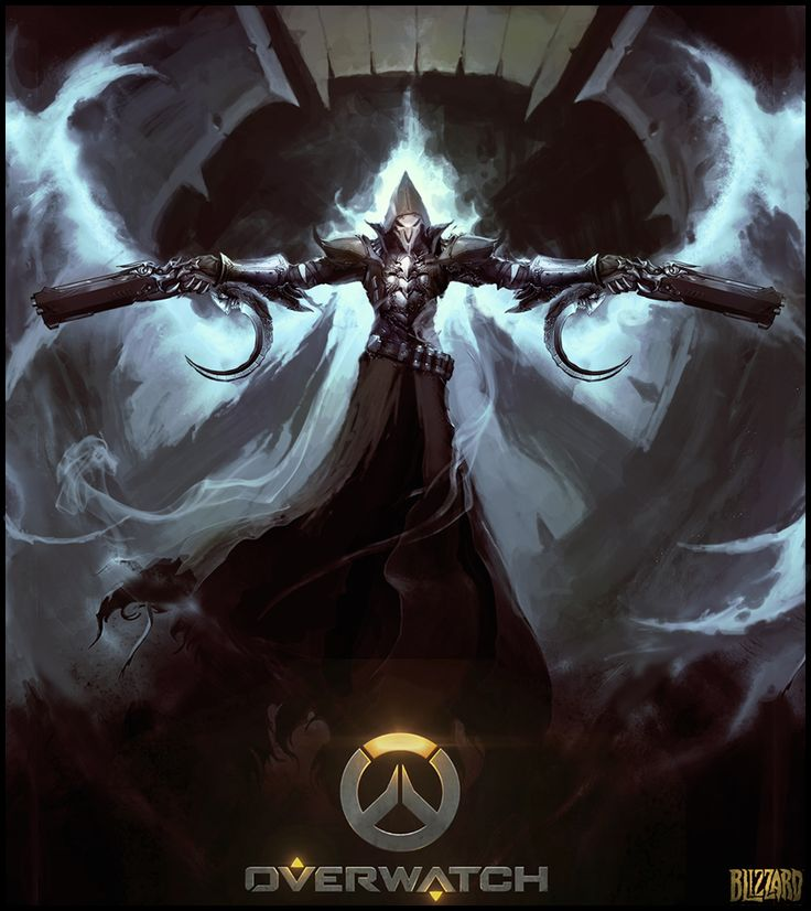 Overwatch Reaper by cyl1981 on DeviantArt