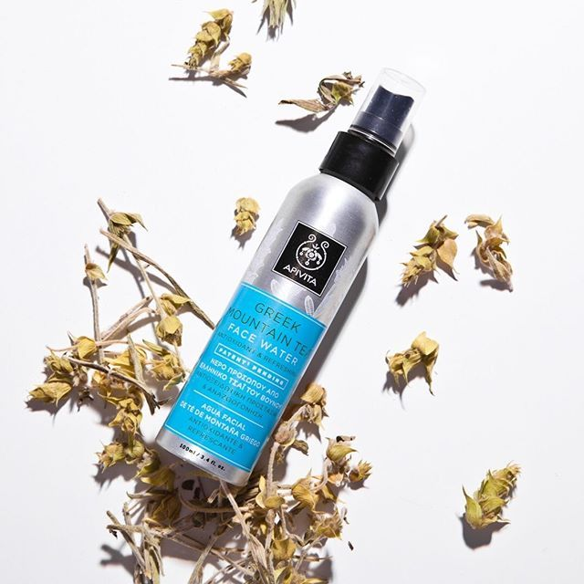 Have you tried our face water? #apivita #facewater #facemist