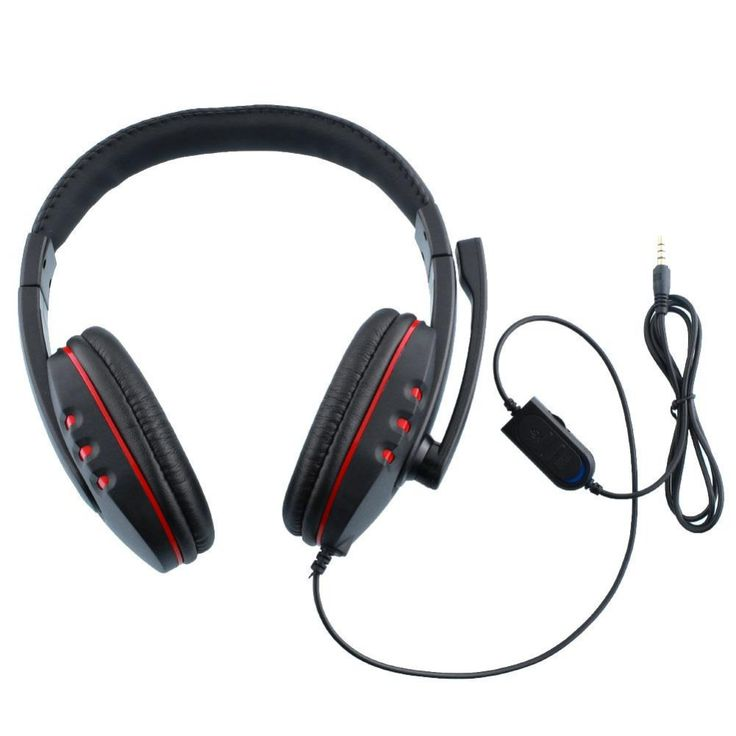 >> Click to Buy << Gaming Headset headphone for PS4 casque Headfone with Microphone Voice Control HI-FI quality Black+Red #Affiliate