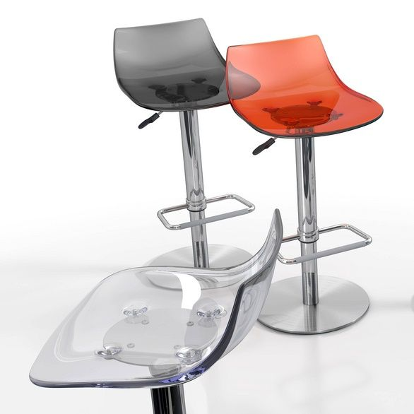 Chef bar stool. Available in various colours.