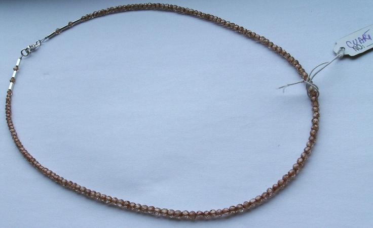 rutilated quart necklace