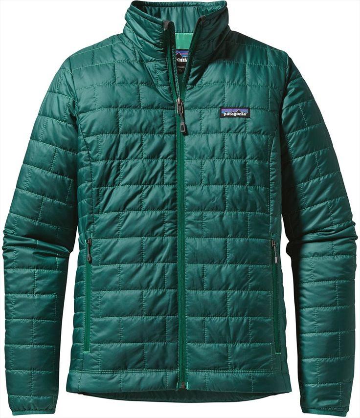 Patagonia Women's Nano Puff Jacket Prima Loft Insulated, UK 12, Arbor