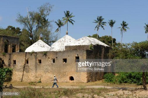 Tanzania, Zanzibar island, near Zanzibar City, Mahurubi Palace ruins