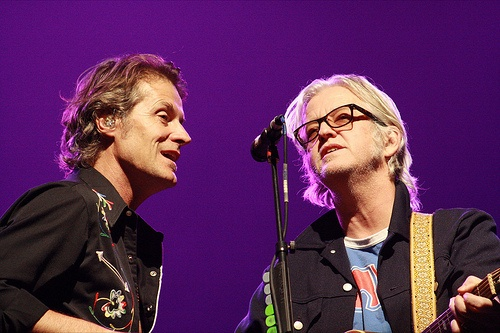 Jim Cuddy and Greg Keelor of Blue Rodeo
