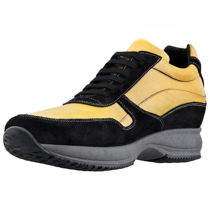 I colori dell'estate per il nuovo modello di sneakers con rialzo interno GUIDOMAGGI. Le uniche scarpe con rialzo che regalano comodità, stile e soprattutto fino a 10 centimetri di altezza!  http://www.guidomaggi.it/estate-14/yokohama-detail#.U5sYInJ_uSo