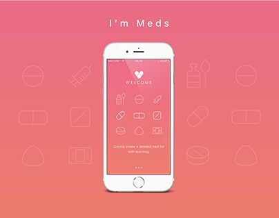 "Check out new work on my @Behance portfolio: ""I'm Meds app design"" http://be.net/gallery/41617817/Im-Meds-app-design"
