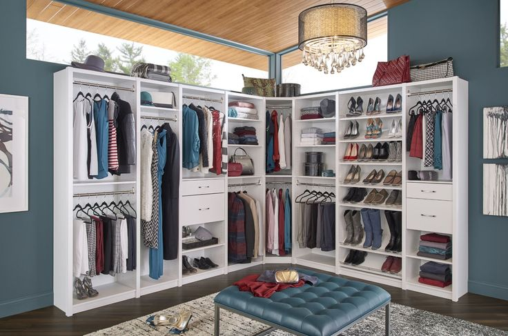 261 best images about bedroom closets on pinterest for Design your own walk in closet