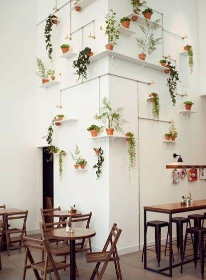 17 meilleures id es propos de plantes suspendues sur for Decoration murale vegetale