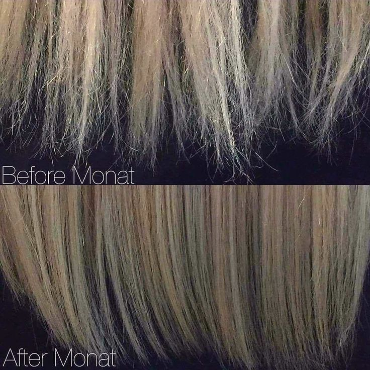 This is exactly how my ends use to look! Split ends don't stand a chance when you're using #MONAT!
