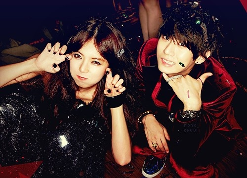 JS and Hyuna. Troublemaker. Adorable.: Hyunah Hyunseung, Troublemak Style, Troubled Makerϟ, Kpop Fantasy, Hyuna Style, Hyunahyunseung Troublemak, Hyuna Kim, Kim Hyuna, Hyuna Hyunseung