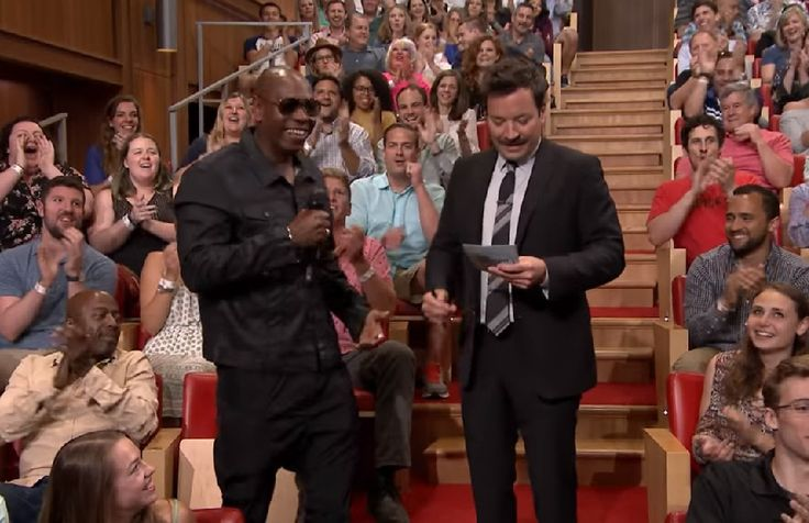 Last night, Dave Chappelle hit up The Tonight Show with Jimmy Fallon to promote his upcoming, residency at Radio City Music Hall. During his visit he participated in the Freestylin' with The R