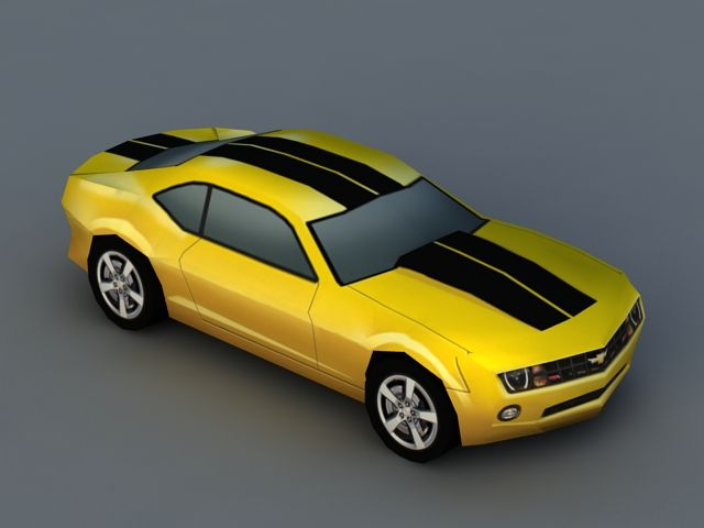 Chevrolet Camaro 3d Model Object Files Free Download Modeling 44149 On Cadnav Chevrolet Camaro Camaro Chevrolet