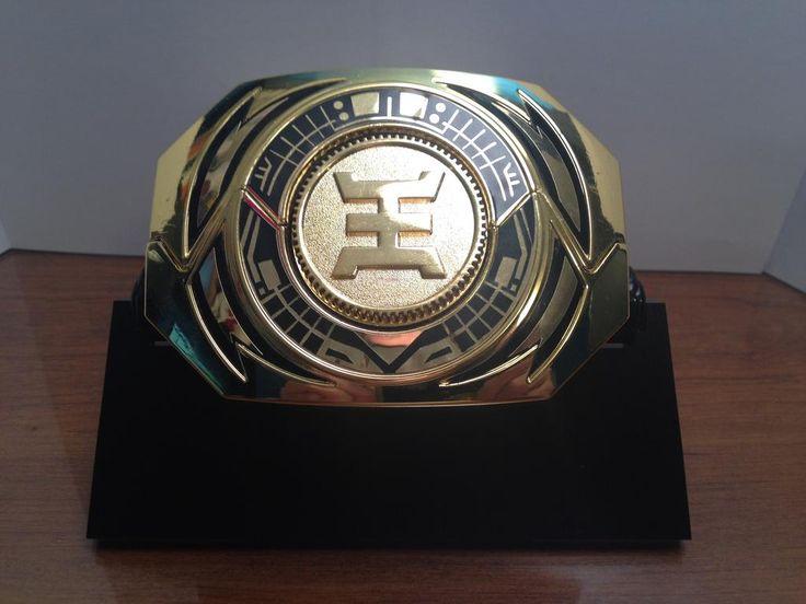CUSTOM Gold Zeo Ranger Legacy Morpher Labels