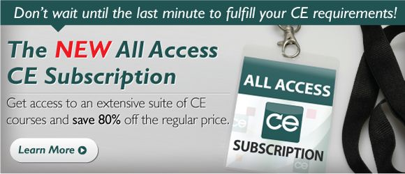 The NEW All Access CE Subscription