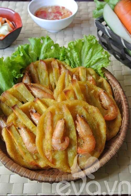 Bài dự thi: Bánh tôm Hồ Tây - Món quà của Hà Nội
