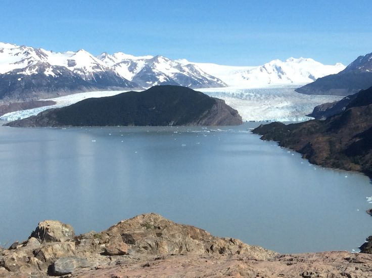 Lago e glaciar grey, torres del paine