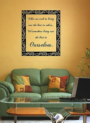 Best Quote Vinyl Wall Decal Stickers Images On Pinterest - Custom vinyl wall decals groupon