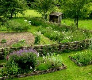 Formal Herb Garden Design