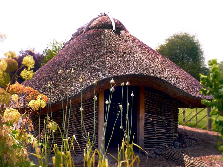 Viking House in Dublin Botanic Garden