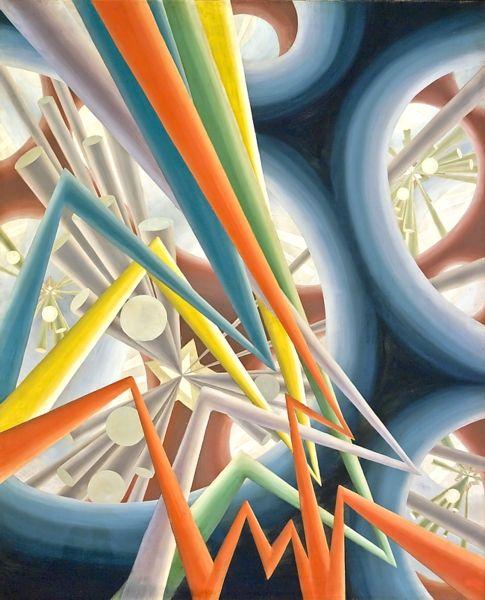Canadian Art | Winnipeg Art Gallery - Bertram Brooker/Sounds Assembling