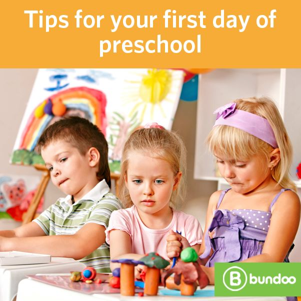 The first day of preschool can be emotional for everyone, so we have a few tips to help you make that first day a little easier.