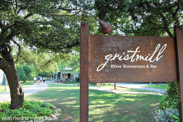 The Gristmill ~ New Braunfels, Texas - R We There Yet Mom? | Family Travel for Texas and beyond...