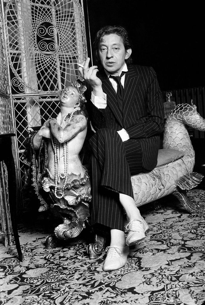 Mister Serge Gainsbourg, a pure genious!