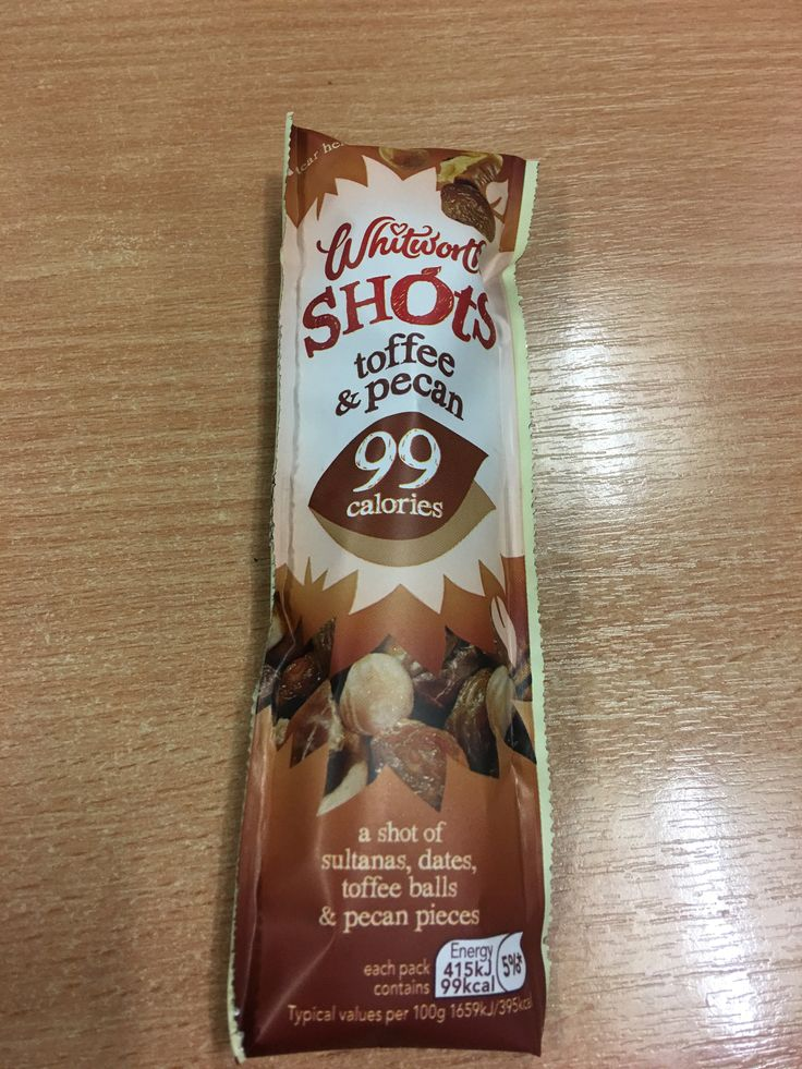 Whitworths Shots Tofee & Pecan. Packed the UK.