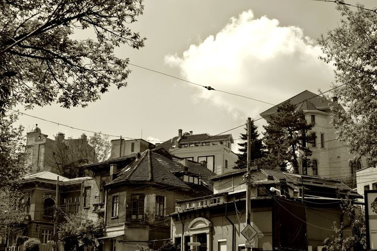 Charming Bucharest: Sepia