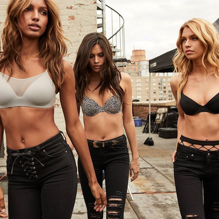 #VictoriasSecret The Best T-shirt Bra Ever  Your new best friends are here: meet the Lightly Lined Scoop Demi, the Push-Up Plunge (and 3 better-than-ever faves)!