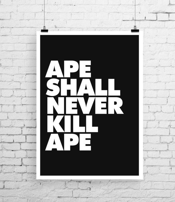 Planet of the Apes poster art Planet of the Apes by TheIndoorType, £10.99