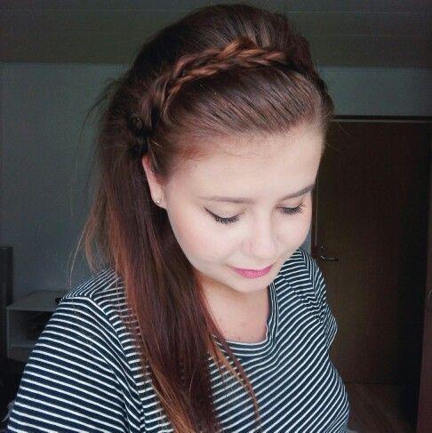 #headband #hairstyle #twistedropebraids #ropebraid #braidheadband