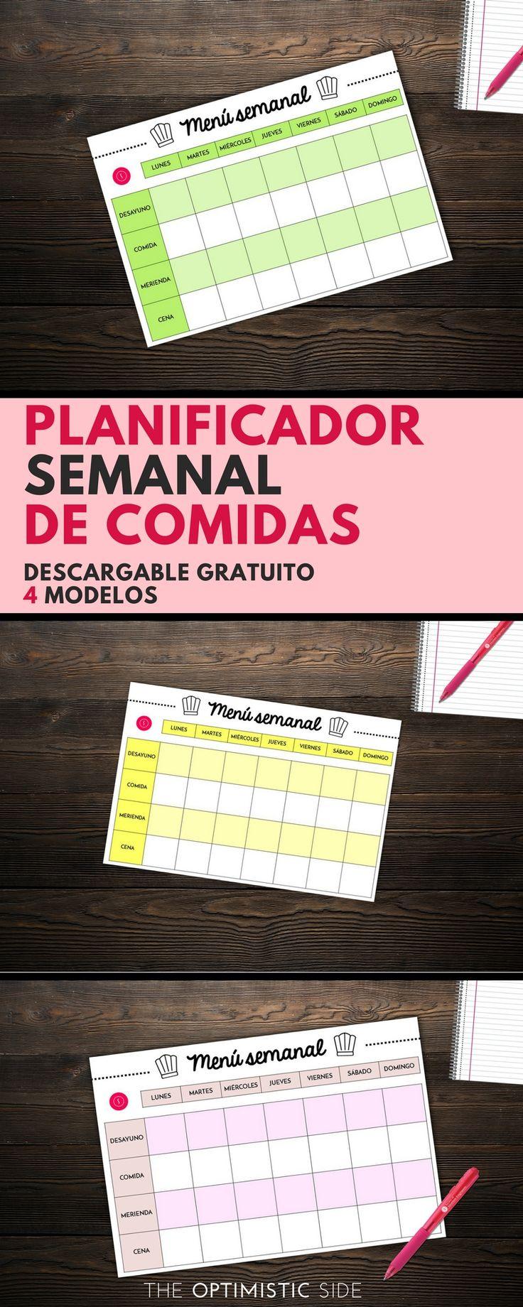 1000 ideias sobre planejamento de card pio semanal no for Organizar comida semanal
