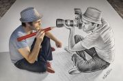 Ben Heine : Pencil vs camera