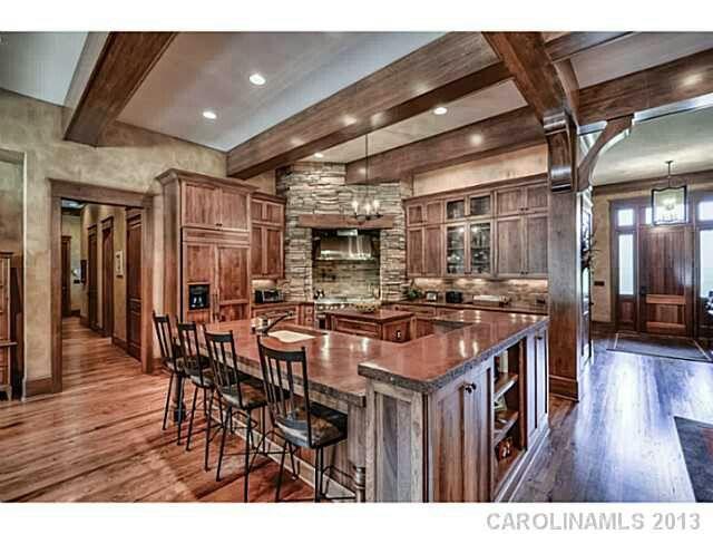 Open Floor Plan Kitchen Home Pinterest