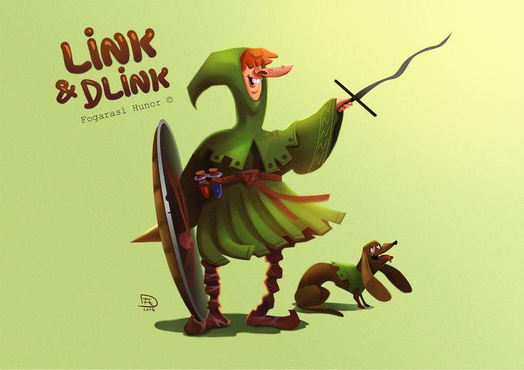 Legend of Zelda redesign, Hunor Fogarasi on ArtStation at https://www.artstation.com/artwork/EbNxv