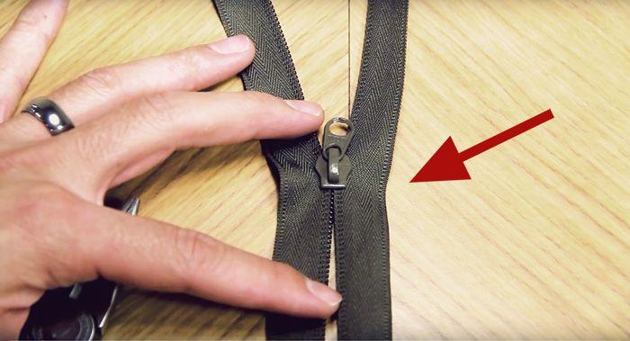 Äntligen en lösning! Så här enkelt lagar du ett blixtlås som slutat fungera.