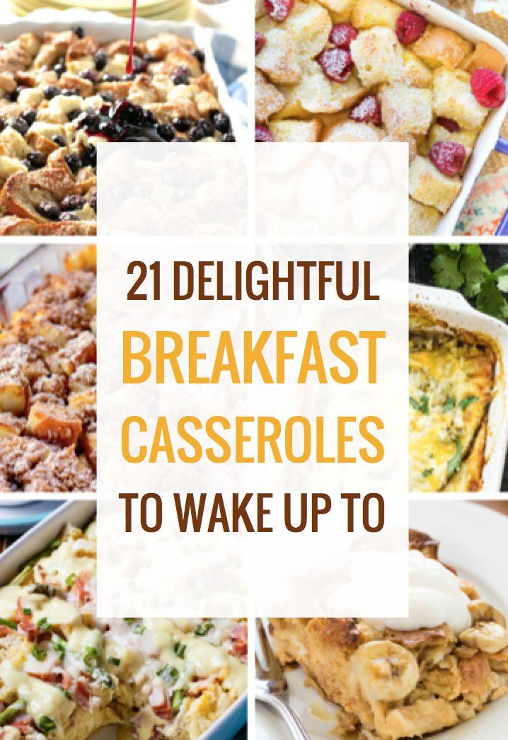 21 Delightful Breakfast Casseroles to Wake Up To
