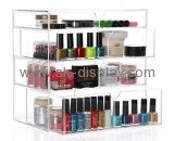 Custom acrylic makeup drawer dividers ava acrylic organizer large acrylic makeup organizer with drawers CO-283